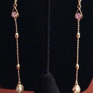 Jewelry - Long gold plated Earrings